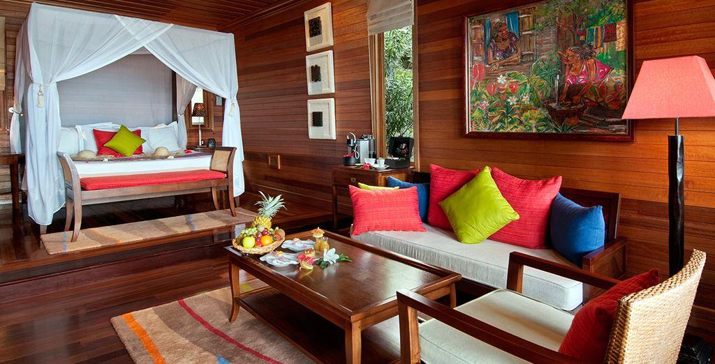Ou préférez la Oceantfront Villa posée sur la plage