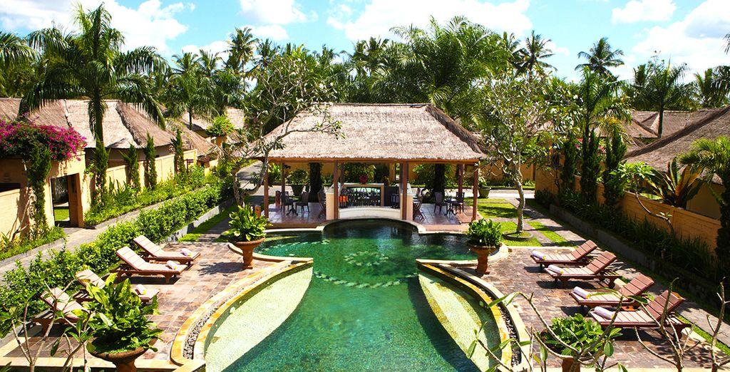 Commencez en douceur par un séjour à Ubud au Furama Villas & Spa 4*