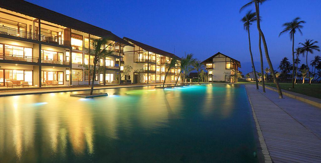 Vous ne rêvez pas ! Vous êtes bien arrivé à l'Anantaya Resort & Spa à Chilaw au Sri Lanka