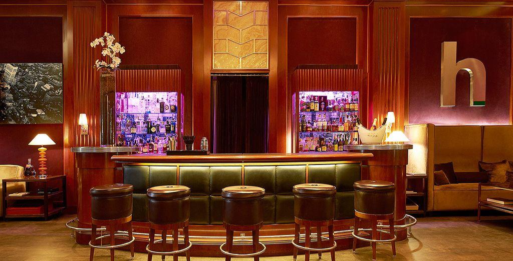 Avant de rejoindre le Club H pour siroter un cocktail...