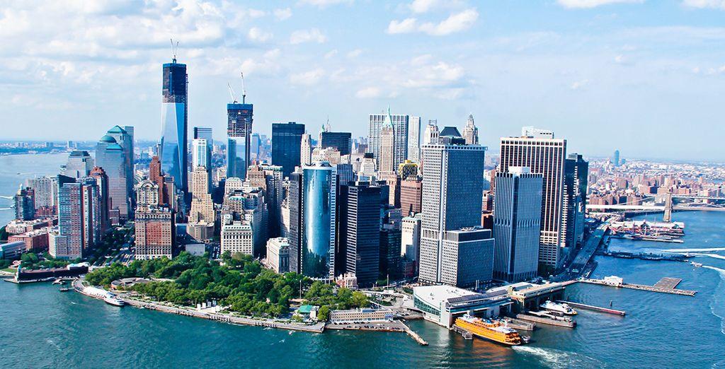 La mythique ville de New York