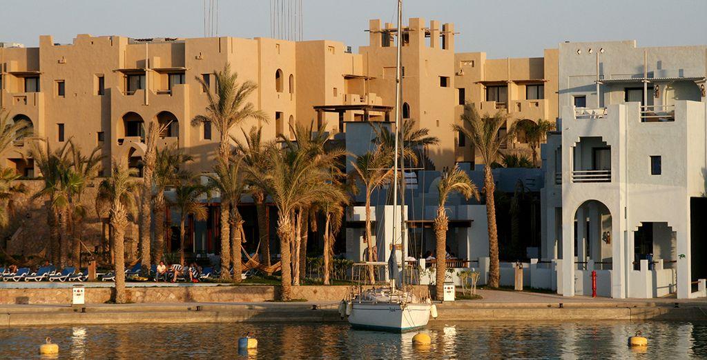 Arrêtez-vous au Marina Lodge 4* - Marina Lodge 4* ou en combiné avec la Croisière Passion du Nil Marsa  Alam