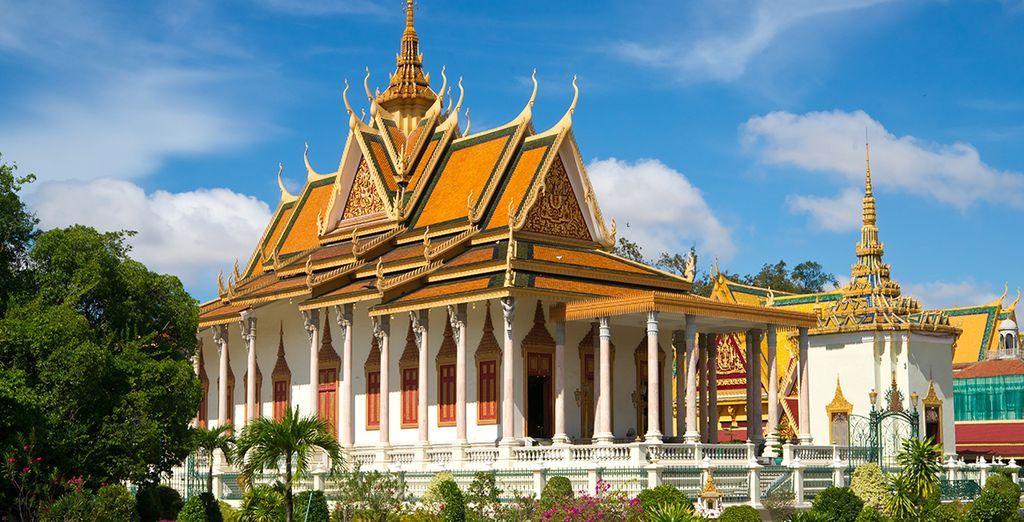 Au Palais Royal de Phnom Penh