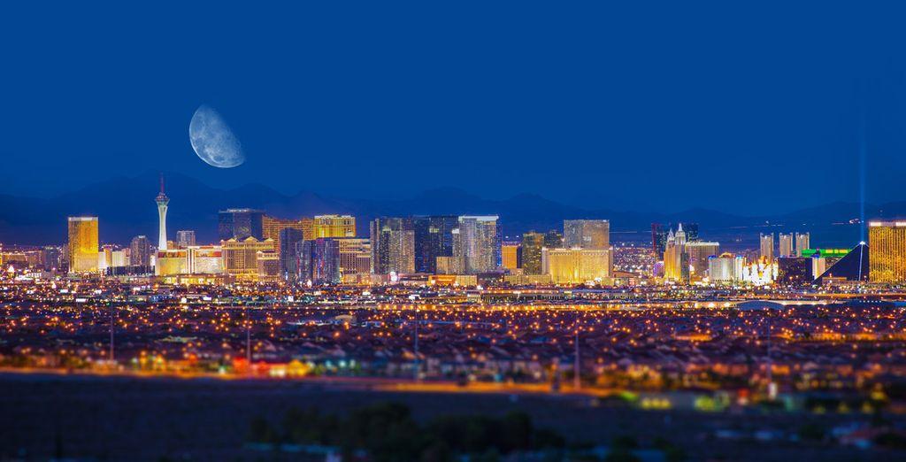 Rendez-vous dans la sulfureuse Las Vegas