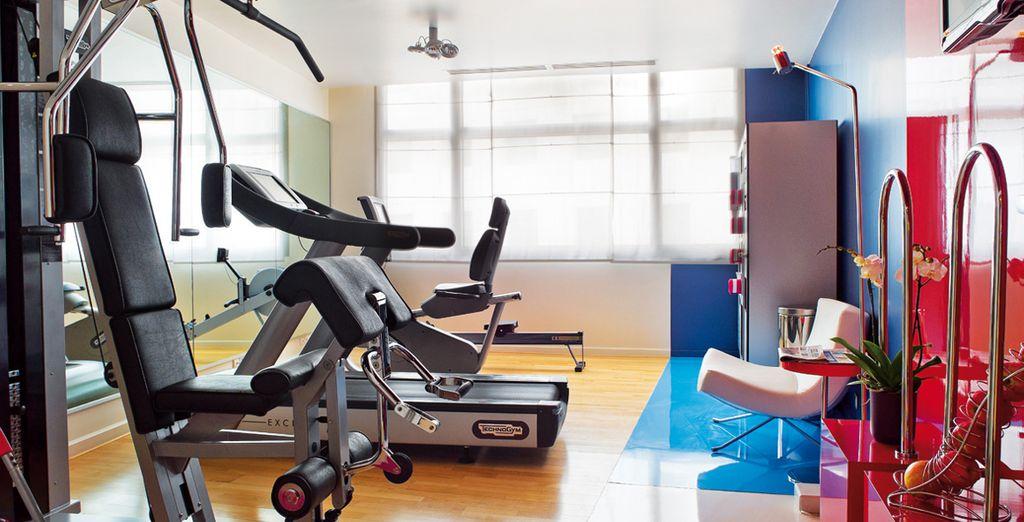 Faites une halte à la salle de fitness...