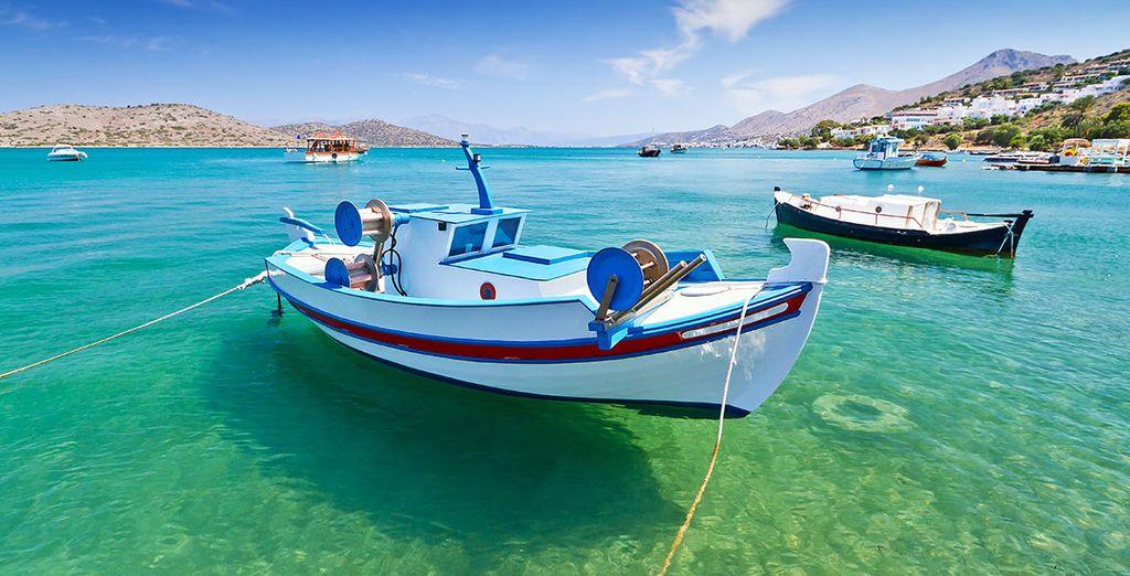 Et découvrez les mystères de la Crète !