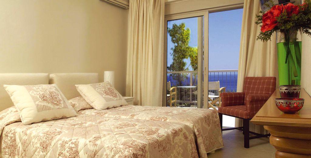 Une chambre face à la mer...