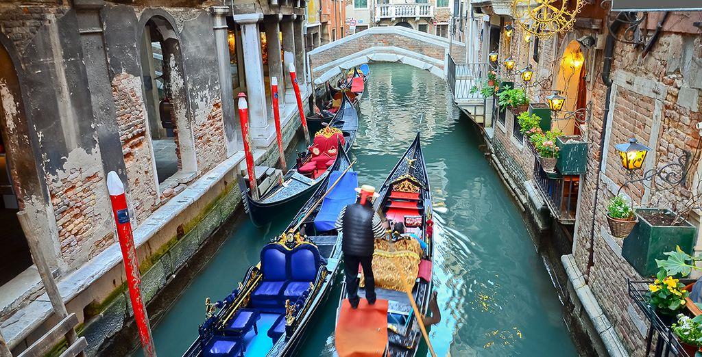 Suivez-nous, nous vous emmenons à Venise !