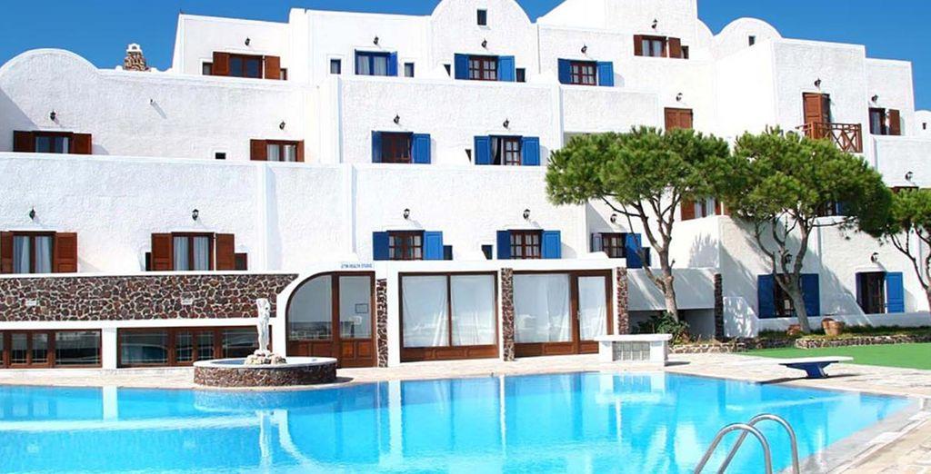 Au Santorini Palace !