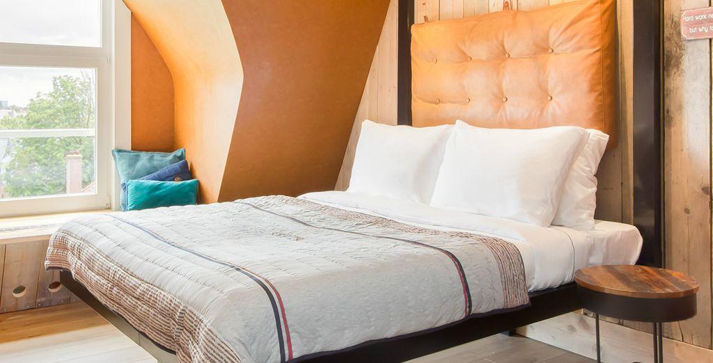 Posez vos valises en chambre Confort