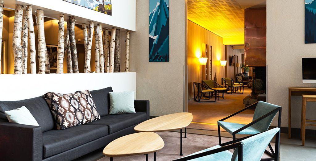 Bienvenue à l'hôtel Les Aiglons