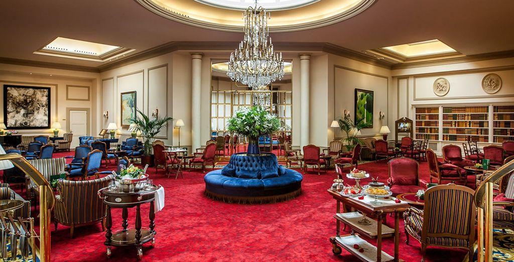 Un hôtel luxueux et chargé d'histoire