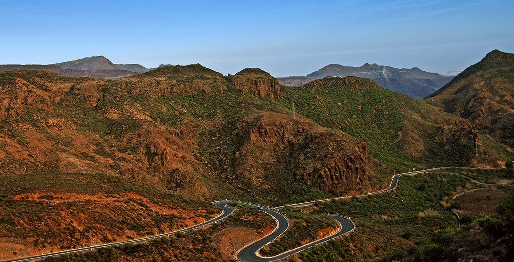 Suivez-nous sur les routes de Grande Canarie !