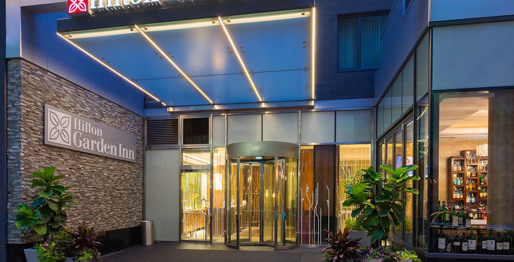 Au Hilton Garden Inn Central