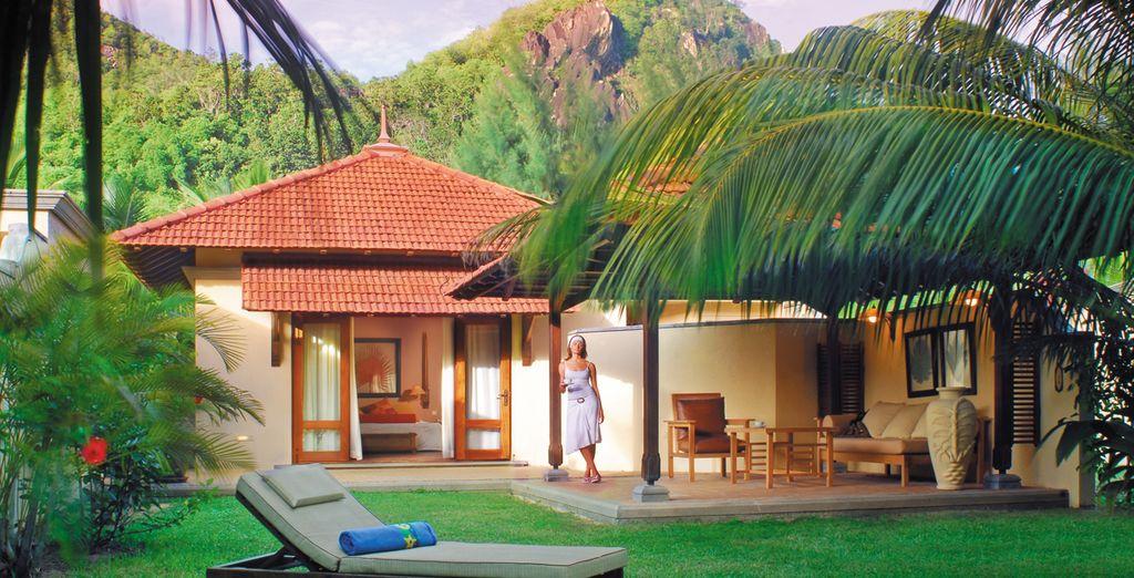 Vous aurez le privilège de poser vos valises dans une  Villa Tropicale