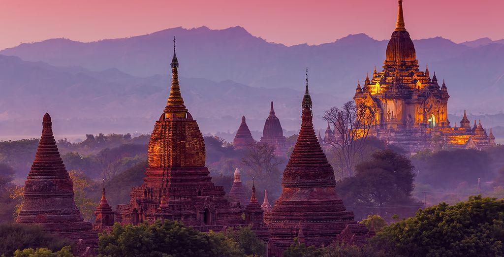 Préparez-vous à voyager hors du temps... - The Mandalay Pagan Packet Mandalay