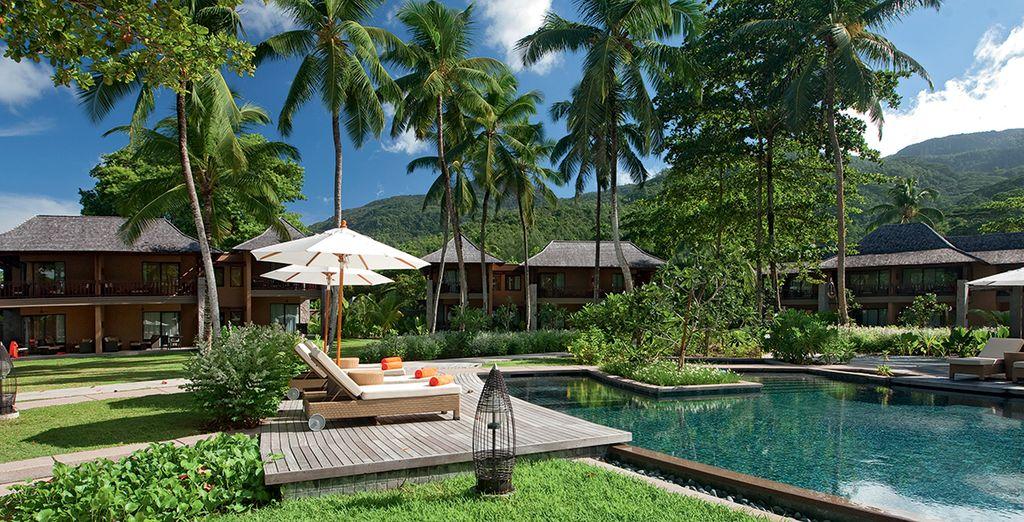 Et admirez la vue qui s'offre à vous avant de profiter de votre incroyable hôtel
