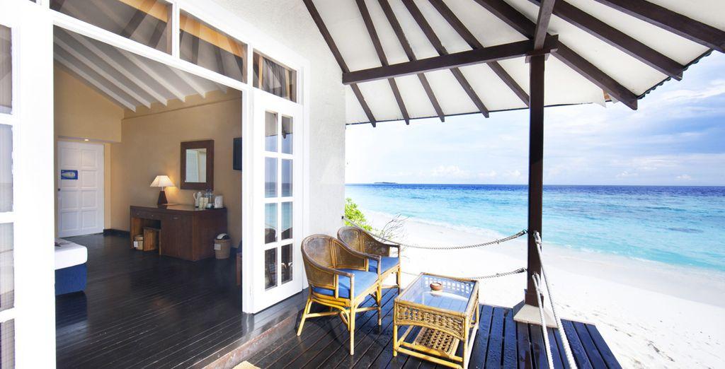 Et disposant d'une superbe vue notamment si vous optez pour la Sunset Beach Villa