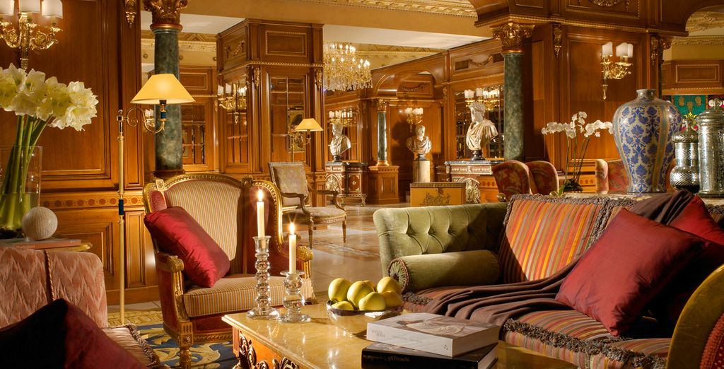 Découvrez les intérieurs élégants de l'hôtel