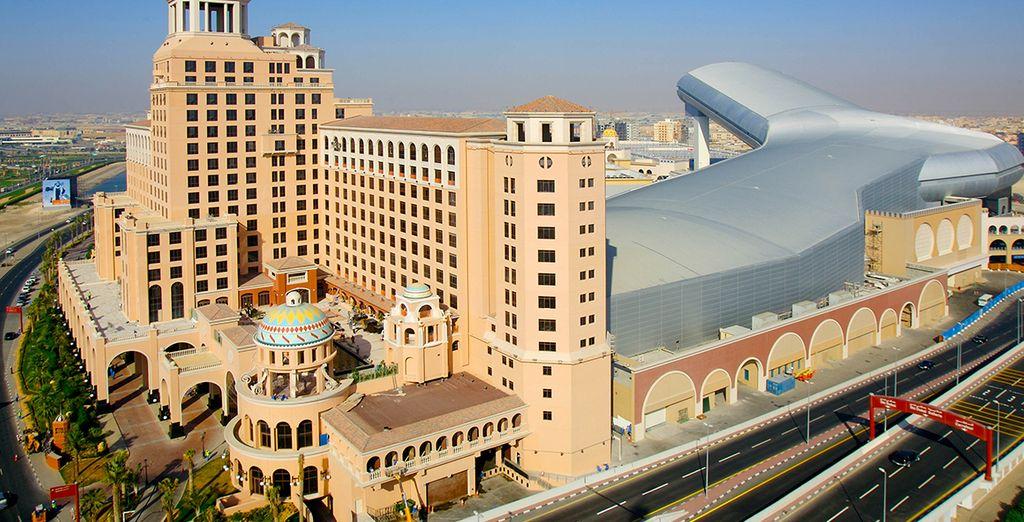 Dans des endroits d'exception comme seul Dubai sait proposer