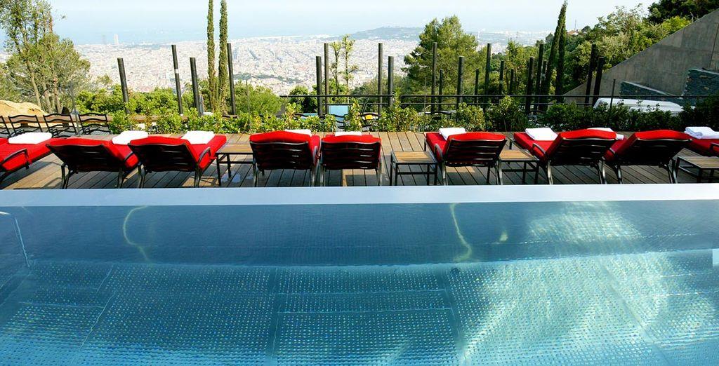 Et sa sublime terrasse - Gran Hotel La Florida 5* Barcelone