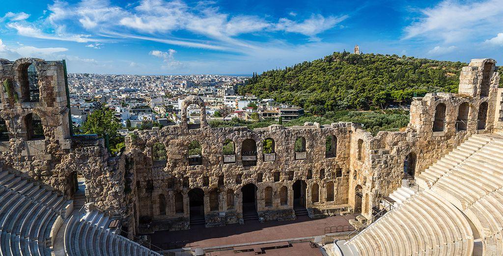 Vous ne serez pas très loin d'Athènes