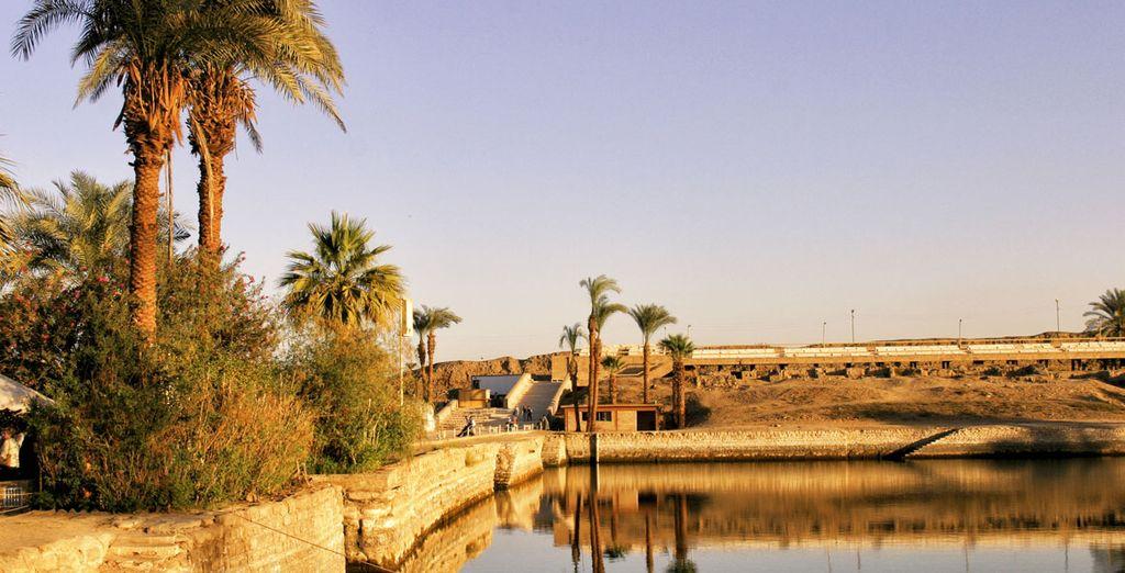Louxor, Karnak ou encore Thèbes...