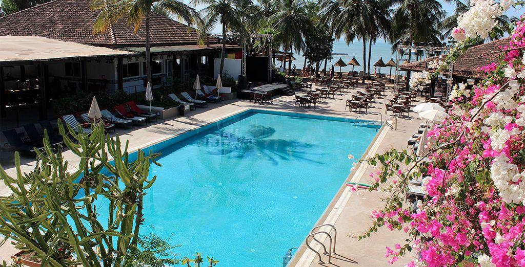 L'hôtel Club les Filaos vous attend...