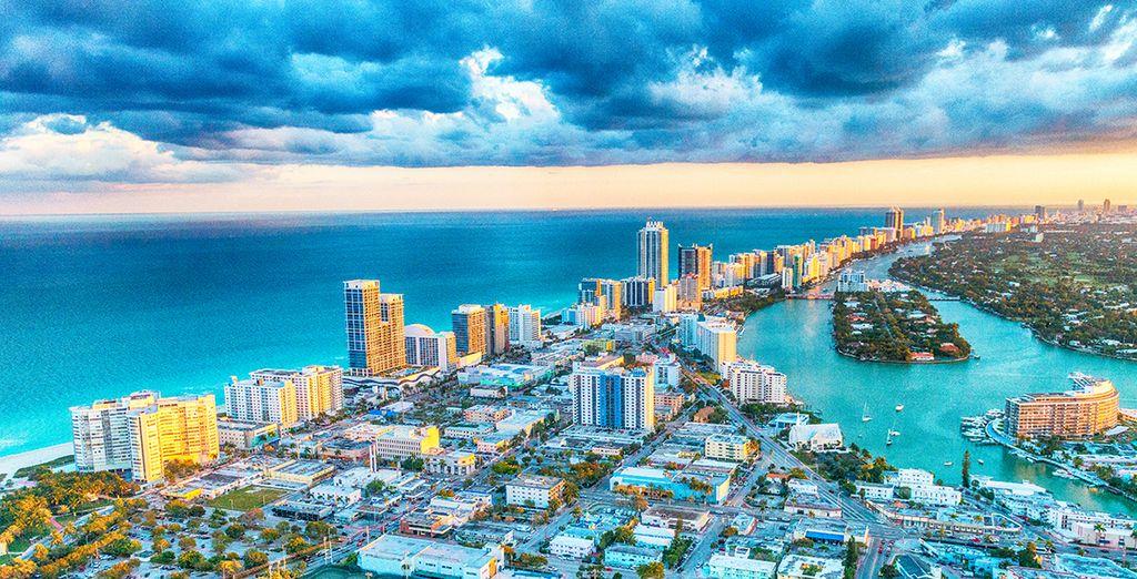 Pour la seconde étape de votre séjour envolez-vous pour la belle Miami !