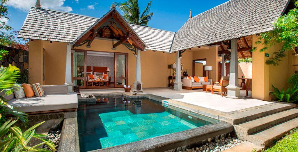 Où vous attend votre Luxury Suite Pool Villa - Maradiva Villas Resort et Spa 5* et séjour possible à Dubai Flic-en-Flac
