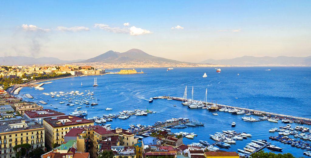 Le Golfe de Naples...