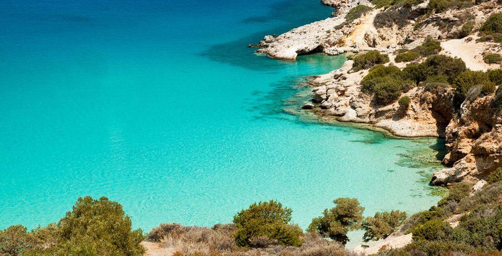 Suivez-nous en Crète !