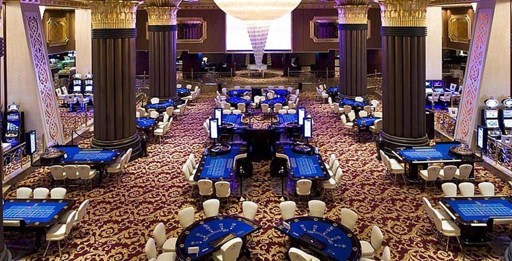 Vous serez détendu pour rafler la mise au casino !