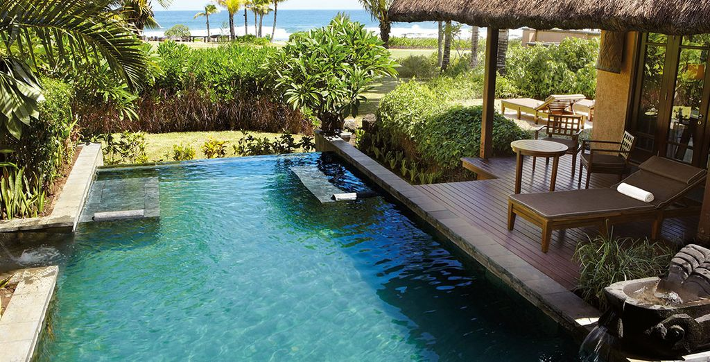 A moins que vous ne vous laissiez tenter par la Luxury Villa avec piscine