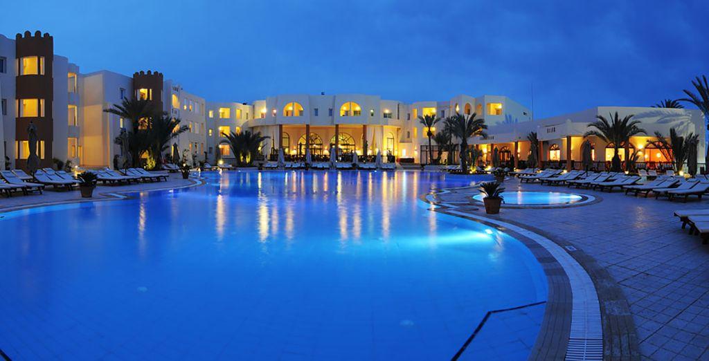 Bienvenue à l'hôtel Green Palm Djerba - Hôtel Green Palm Golf & Spa 4* Djerba