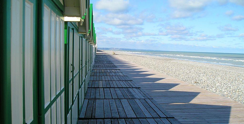 Votre résidence donne directement sur la mer