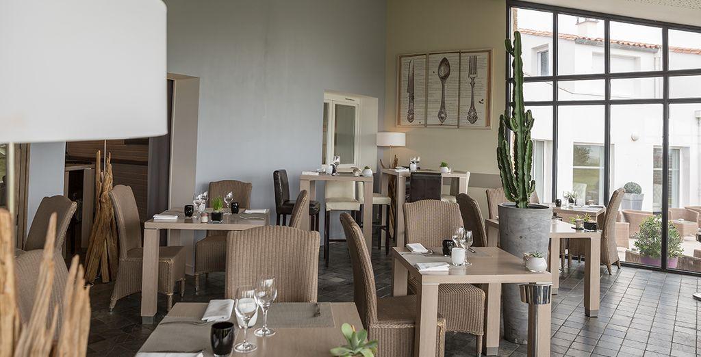 Le restaurant vous accueillera pour de succulents moments culinaires