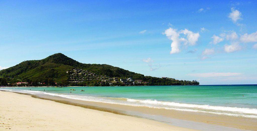 Rejoignez les somptueuses plages de la Thaïlande