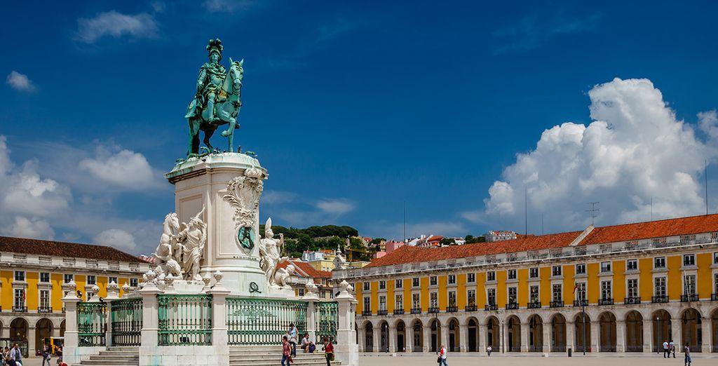 Cap sur Lisbonne...