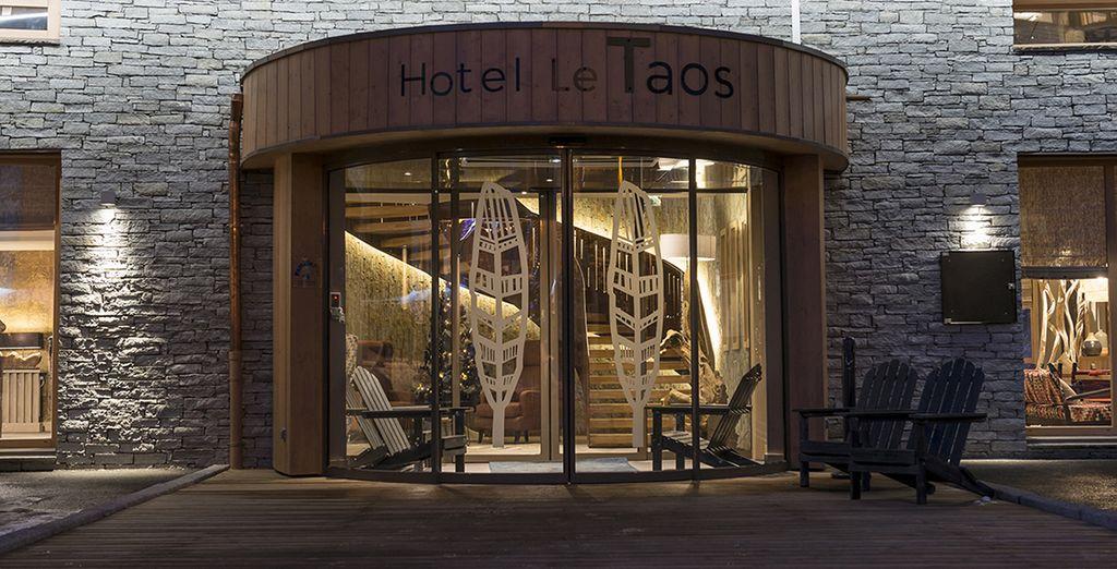 L'hôtel Le Taos vous ouvre ses portes