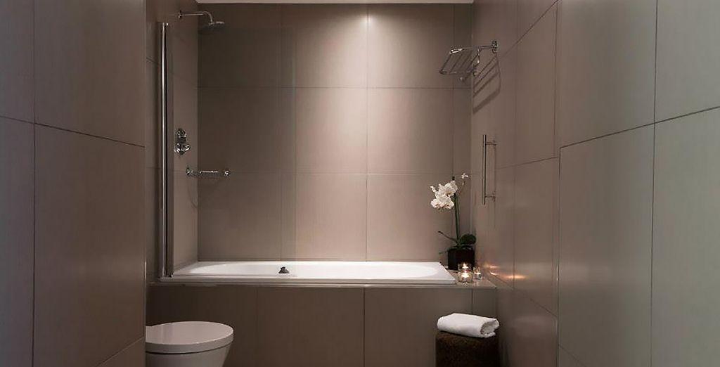 Et sa salle de bains tout confort