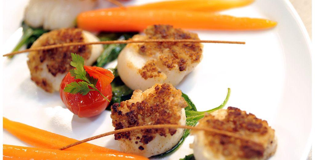 Au restaurant, savourez les plats typiques du Sud