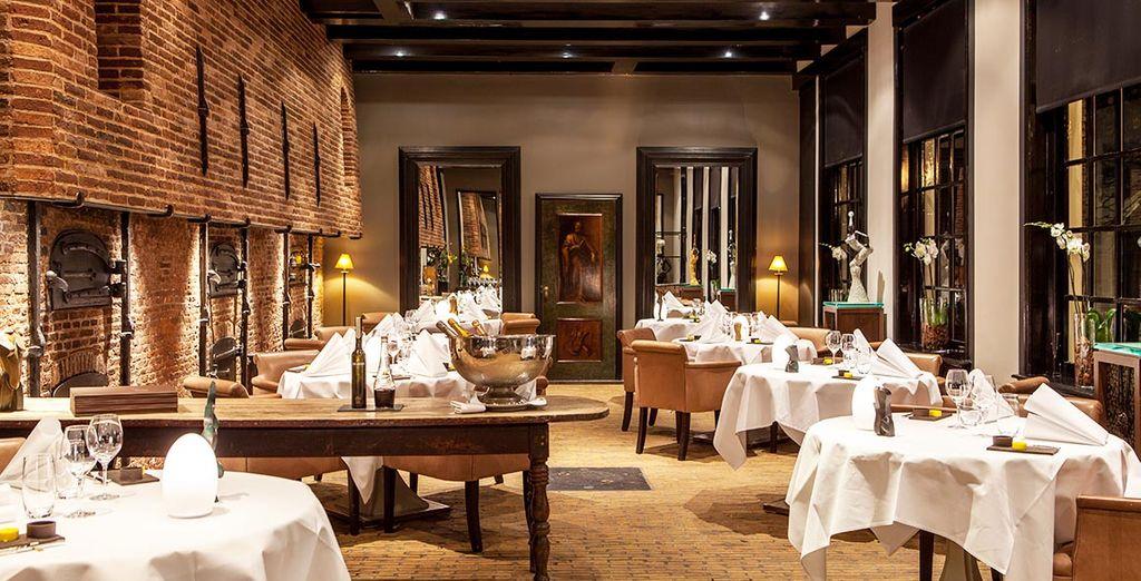 Vous allez adorer déguster les plats au restaurant de l'hôtel...
