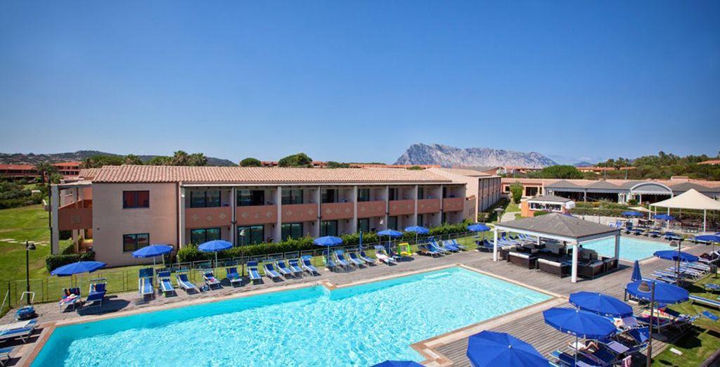 Pas de doute, vous êtes définitivement bien en Sardaigne - Coralia Club Baja Bianca 4* San Teodoro