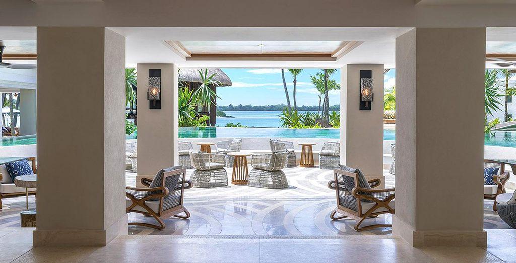 Un cadre sublime au style hospitalier et sophistiqué à la fois