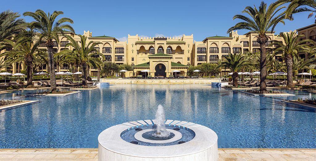 Offrez-vous le luxe et la volupté d'une oasis... - Hôtel Mazagan Beach Resort 5* Casablanca