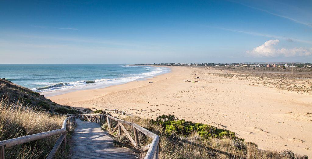 Vous donne rendez-vous sur la Costa de la Luz, en Andalousie