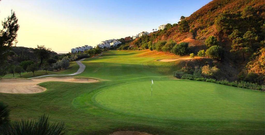 Ou faites une pause au golf