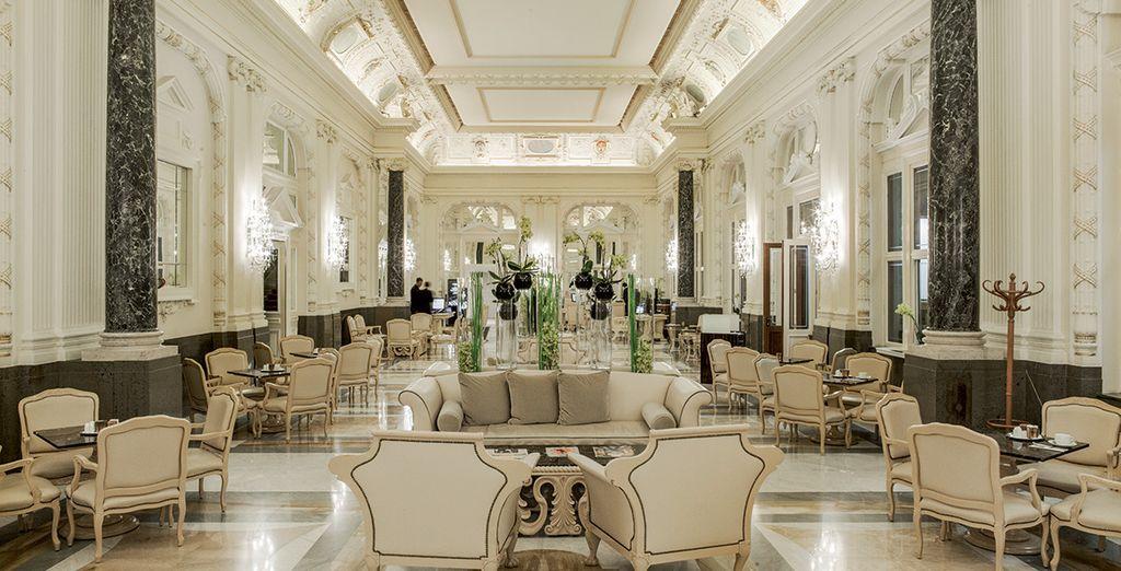 Un véritable palais brillant de mille feux - Hôtel Boscolo Prague, Autograph Collection 5* Prague