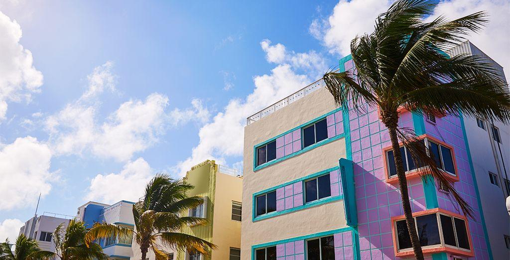 L'architecture Art Deco originale et emblématique du quartier vous subjuguera